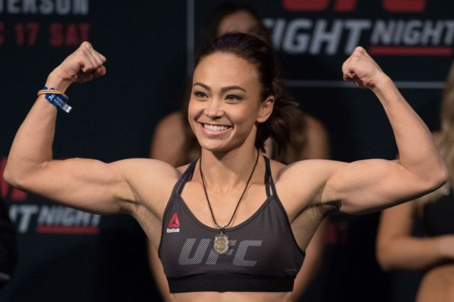Michelle Waterson Bio Husband Joshua Gomez And Other Details About Her Networth Height Salary Singapore mixed martial arts mma strawweight michelle waterson has her sixyearold daughter watch her fights. michelle waterson bio husband joshua
