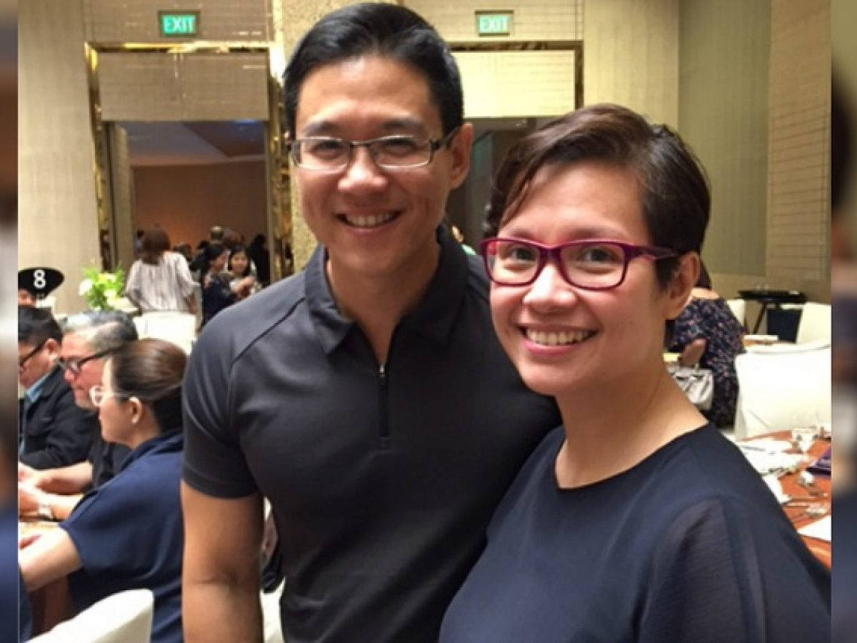 Lea Salonga med lugn, Man Robert Charles Chien